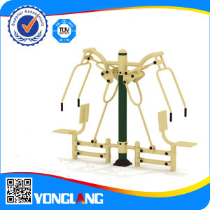 Environmetal-Friendly Galvznied Green Body Exercise Equipment for Wholesale Company pictures & photos