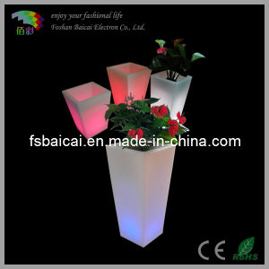 Square LED Flower Pots Used Outdoor pictures & photos