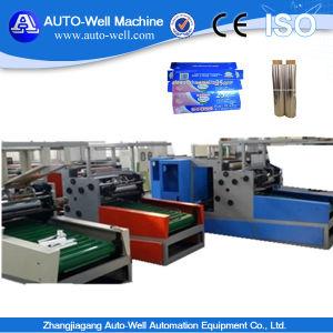 Aluminium Foil Rewinding Machine for 300, 450mm Width pictures & photos