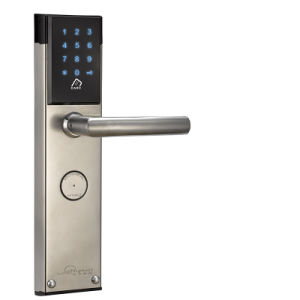High Security Password Electronic Door Lock Hotel Smart Door Lock pictures & photos