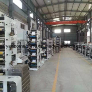 Ybs-570 Six Color Logistics Express Adhesive Label Printing Machine pictures & photos