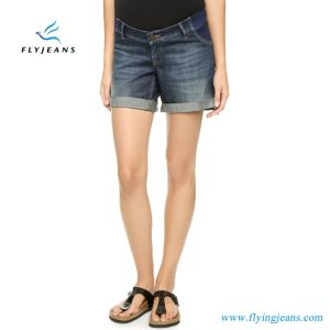Elegant New Fashion Ladies Jeans Maternity Denim Shorts pictures & photos
