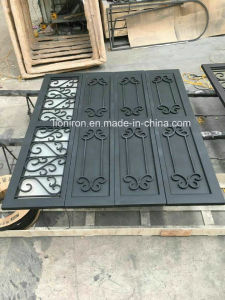 Wrought Iron Automatic Garage Doors for Car pictures & photos