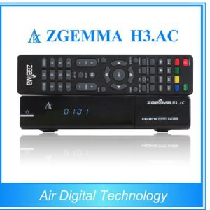 ATSC PVR Ready DVB S2 FTA Full HD Receiver Zgemma H3. AC ATSC + IPTV Set Top Box pictures & photos