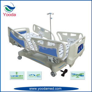 Five Function Electric Vertical Travelling Hospital Bed pictures & photos
