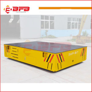 Traversal Movement Heavy Load Electric Rail Handling Vehicle for Warehouse pictures & photos