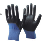 15 Gauge Nylon and Spandex Liner 3/4 Nitrile Coated Gloves