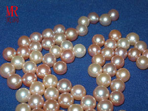 7-8mm Round Freshwater Loose Pearls pictures & photos