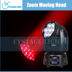 Best Price 7X12.8W LED Zoom Moving Head Lighting