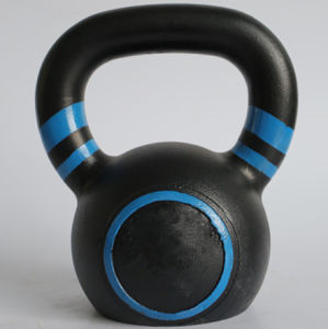 Colourful Code Cast Iron Kettlebell pictures & photos