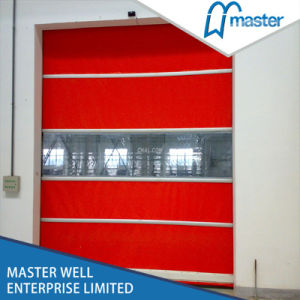 High Speed Automatic Roll up Door/High Speed Roller Door/Rapid Rolling Door/Fast Speed Roller up Garage Door pictures & photos