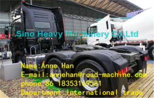 Sinotruk A7-G High Roof Cab Euro 2 Tractor Head Trucks with Double Sleepers and 1 Spare Tire for 50t Tow pictures & photos