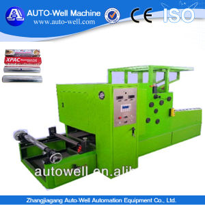 Kitchen Aluminum Foil Rewinding Machine pictures & photos