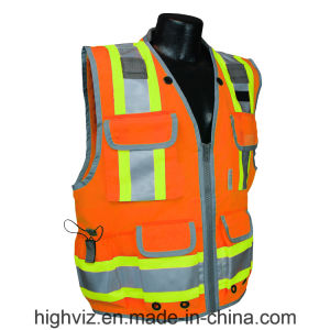 Reflective Safety Vest with ANSI07 Certificate (C2023) pictures & photos