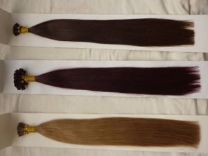 Pre-Bonded Hair Extensions 100% Human Hair Keratin Hair Wholesale Price