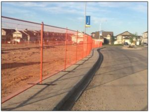 """6FT X 10FT Temporary Consrtruction Fence Panels Weld Mesh 2"""" X 4"""" X 8 Gauge Wire pictures & photos"""