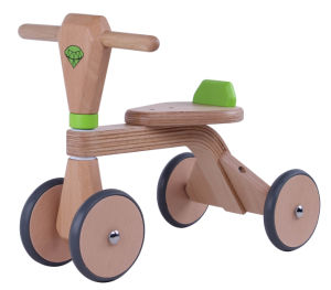 Wooden Baby Walker/ New Kids Wooden Tricycle pictures & photos