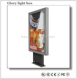 Outdoor Street Stand LED Advertising Scrolling Light Box pictures & photos