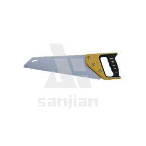 High Quality Competitive Price Hand Saw with ABS+TPR Grip (for wood working) pictures & photos