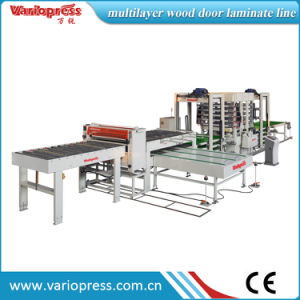 Multi-Layer Loading and Unloading Hot Press Machine pictures & photos