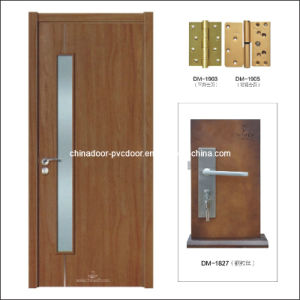 (PVC-M-019) Wooden Door Interior PVC Door Room Door