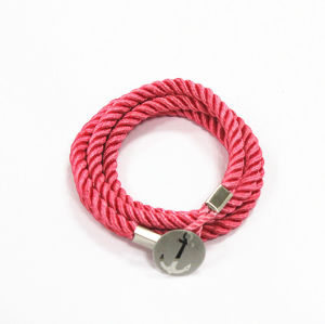 Fashion Jewelry Sailor Knot Bracelet with Anchor Rd-Jsb0028)