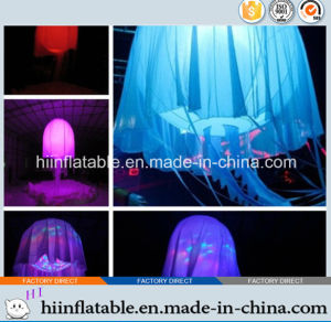 Inflatable Supplies, Colorful Inflatable Jellyfish Ball 001 with LED Light for Party, Event, Stage Decoration