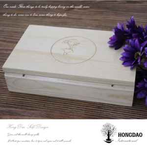 Hongdao Customized Wooden Wedding Craft Gift Photo USB Album Box _E pictures & photos