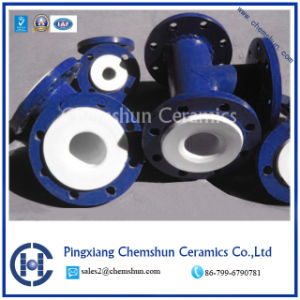 Ceramic Compounded Pipe for Wear Resistance pictures & photos