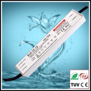 12W Constant Voltage Outdoor Waterproof IP67 LED Power Supply with Ce/RoHS pictures & photos