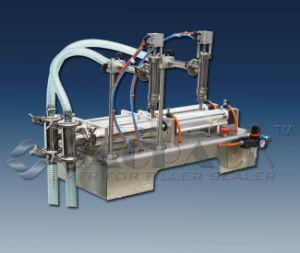 Semi Auto Liquid Filling Machine, Double Piston Filler Gpf-250L2