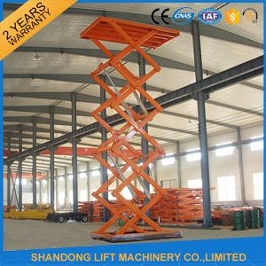 1t-30t Warehouse Scissor Cargo Lift Hydraulic Cargo Elevator for Warehouse pictures & photos