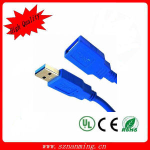USB 3.0 Cable Am-Af Standard Blue with Factory Price (NM-USB-1317) pictures & photos