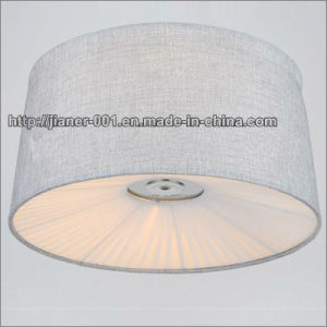 Nice Fashion Modern LED Ceiling Lamp with Fabric Shade pictures & photos