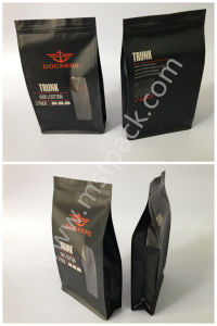 Packaging Bag Kraft Paper Flat Bottom Pouch Box Bag pictures & photos