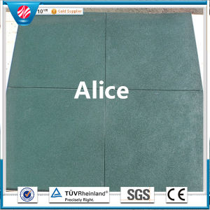Commercial Outdoor Rubber Tile/Recycle Rubber Tile/Interlocking Rubber Tiles pictures & photos