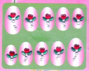 Non-Toxic Nail Tattoo Sticker