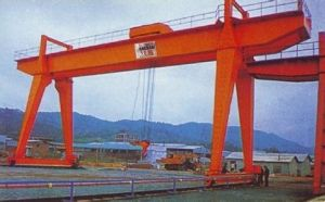High Quality Heavy Duty Overhead Gantry Crane 50/50ton