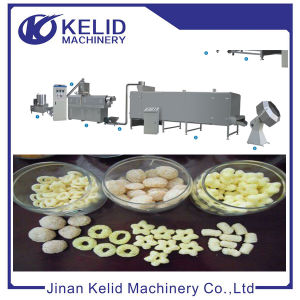 Multifunctional Automatic Puffed Cereal Extruder pictures & photos