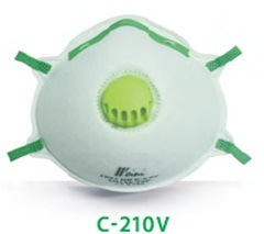 Blue Color Dust Respirators with Valve Ce Certificated pictures & photos