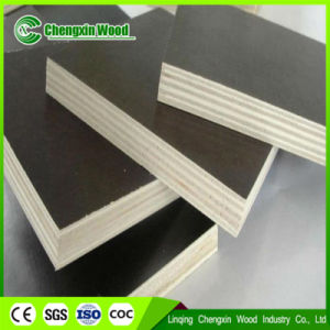 Poplar Black and Brown Film Faced Plywood Shuttering Marine Plywood From Chengxin Factory pictures & photos