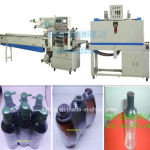Hot Sale Automatic Promotional Shampoo Bottle Shrink Wrapping Machine pictures & photos