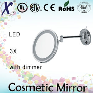 9 Inch Double Sides LED Wall Bathroom Cosmetic Mirror