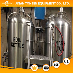 Turnkey Micro Beer Brewing System, Equipment for Brewery pictures & photos