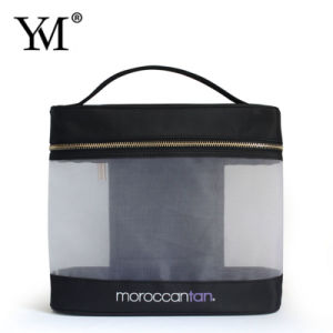 Newest OEM Top Quality Mesh Fashion Cosmetic Bag pictures & photos