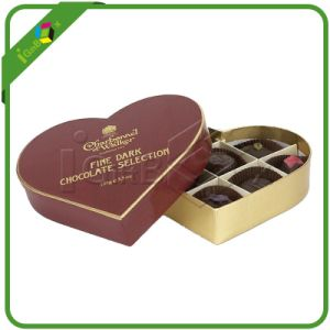 Heart Shape Chocolate Packaging Box for Gift pictures & photos