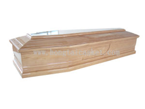 Wooden Coffin for Italian Style