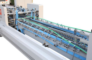 Xcs-1100AC Corrugated Box Folder Gluer Machine with Lock Bottom pictures & photos