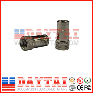 China RG6 Coaxial Cable Quick CATV F Connector pictures & photos