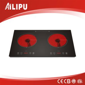 New Desing Double Infrared Ceramic Cooker with Touch Control pictures & photos